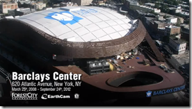 Barclays Center Time-Lapse Video