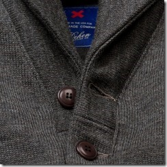 Best Made x Dehen Shawl Neck Sweater Coat 2