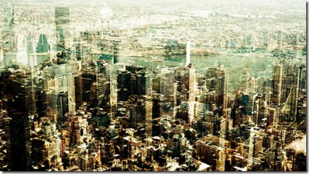 Manhattan In Multilayered Glory, the latest trend in photography