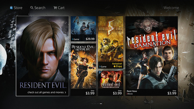 A look at the new PlayStation Store