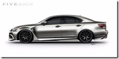 Project Lexus LS F SPORT by Five Axis for SEMA 2012 2