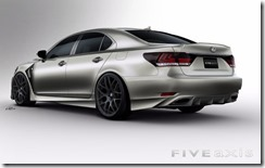 Project Lexus LS F SPORT by Five Axis for SEMA 2012 3