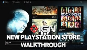 New PlayStation Store