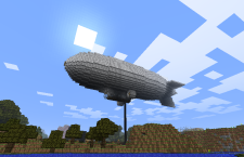 Minecraft incredible Blimp build. Minecraft Update 1.8.2 For Xbox LIVE is the newest version for Xbox online gaming for the Minecraft compendium. Downlaod now!