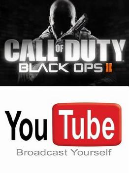 Call of Duty: Black Ops II teams up with YouTube to deliver in-game live streaming