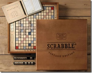 VINTAGE EDITION SCRABBLE BOARD GAME