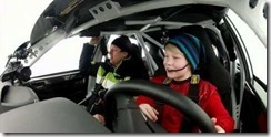 11 year old rally driver