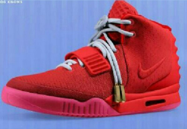 Nike Air Yeezy 2 Red / Red | LifeStyles