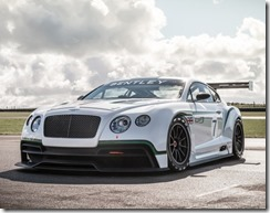 Bentley Continental GT3 Race car 4