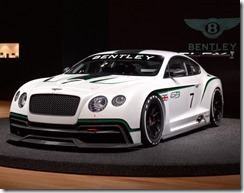 Bentley Continental GT3 Race car 6