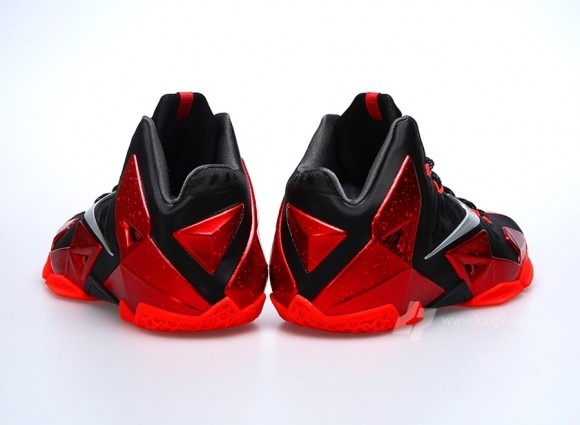 save off 37f81 a65dc Nike LeBron 11 (Miami Heat) aka The New Bred 11s | LifeStyles Defined