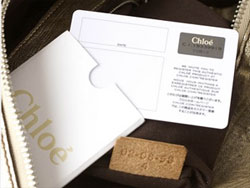 Real and not fake Chloe handbag lifestyle.