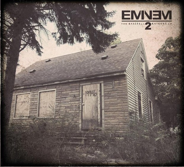 Eminem marshall mathers lp 2 album art