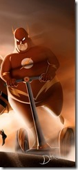 What if your favorite superhero was fat 5