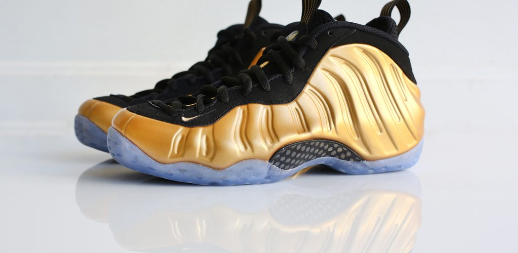 """size 40 4a19c 6d06b The Nike Air Foamposite One """"Metallic Gold"""" 