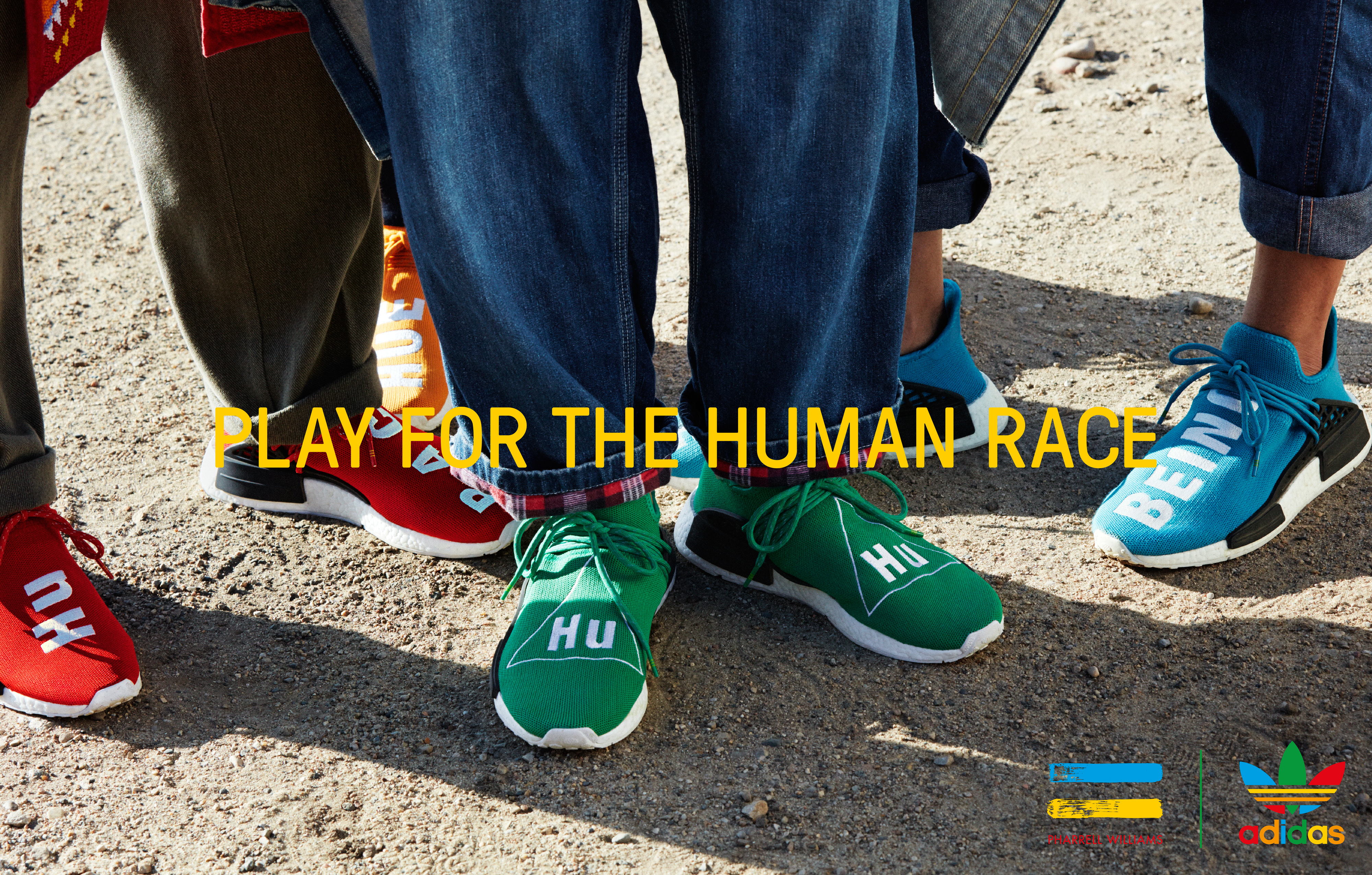 super popular 9fdcc 8c2db Pharrell Williams and Adidas team up for HU | LifeStyles Defined