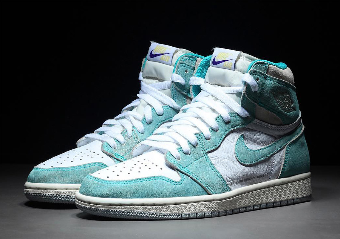 The Air Jordan 1 Retro High Og Turbo Green X Ld Merch To Match